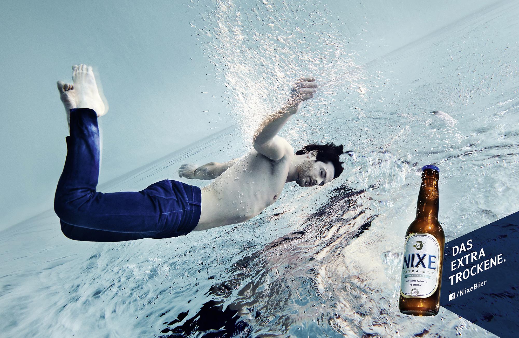 NIXE Underwater boy