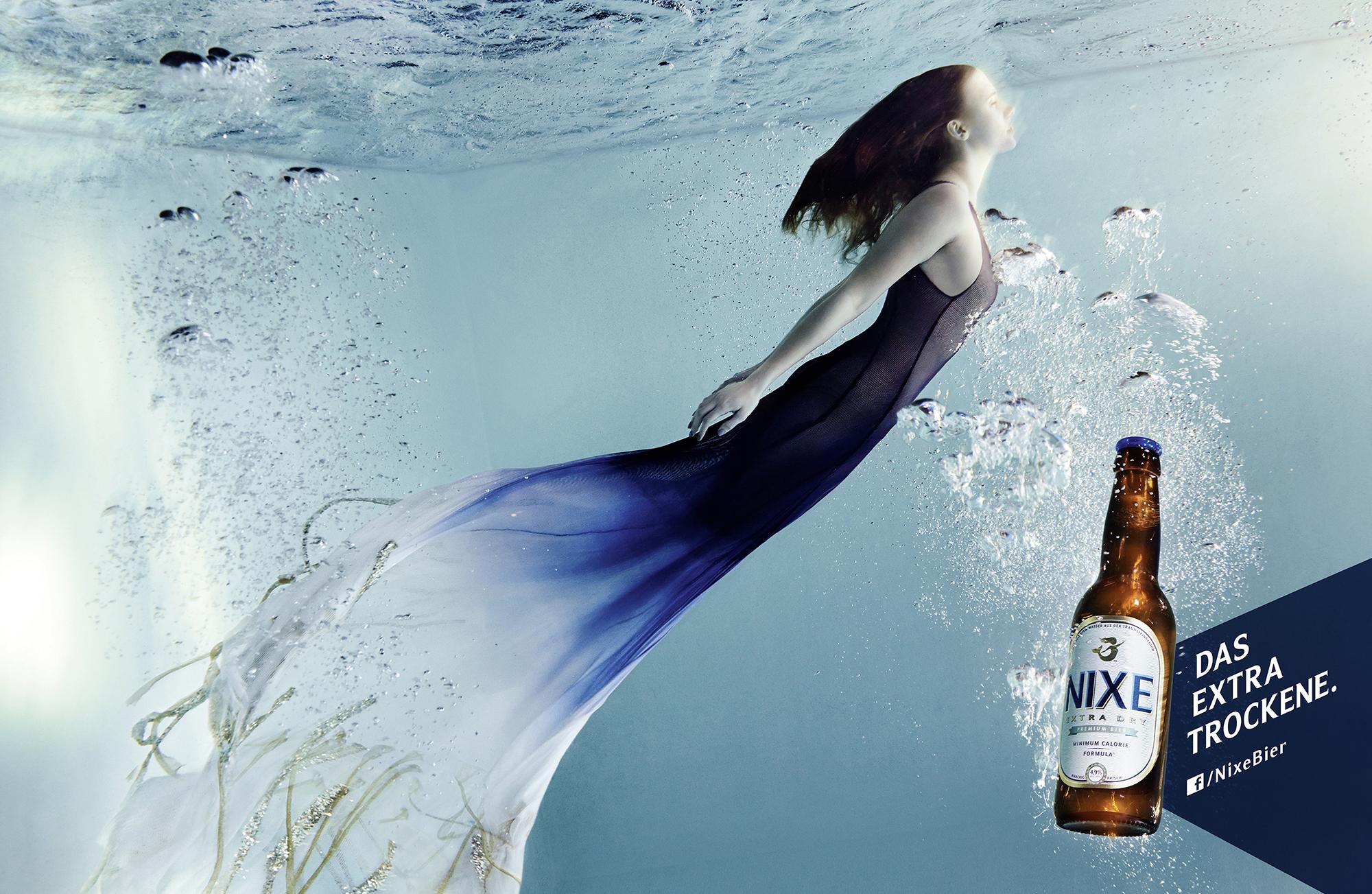 NIXE Underwater girl
