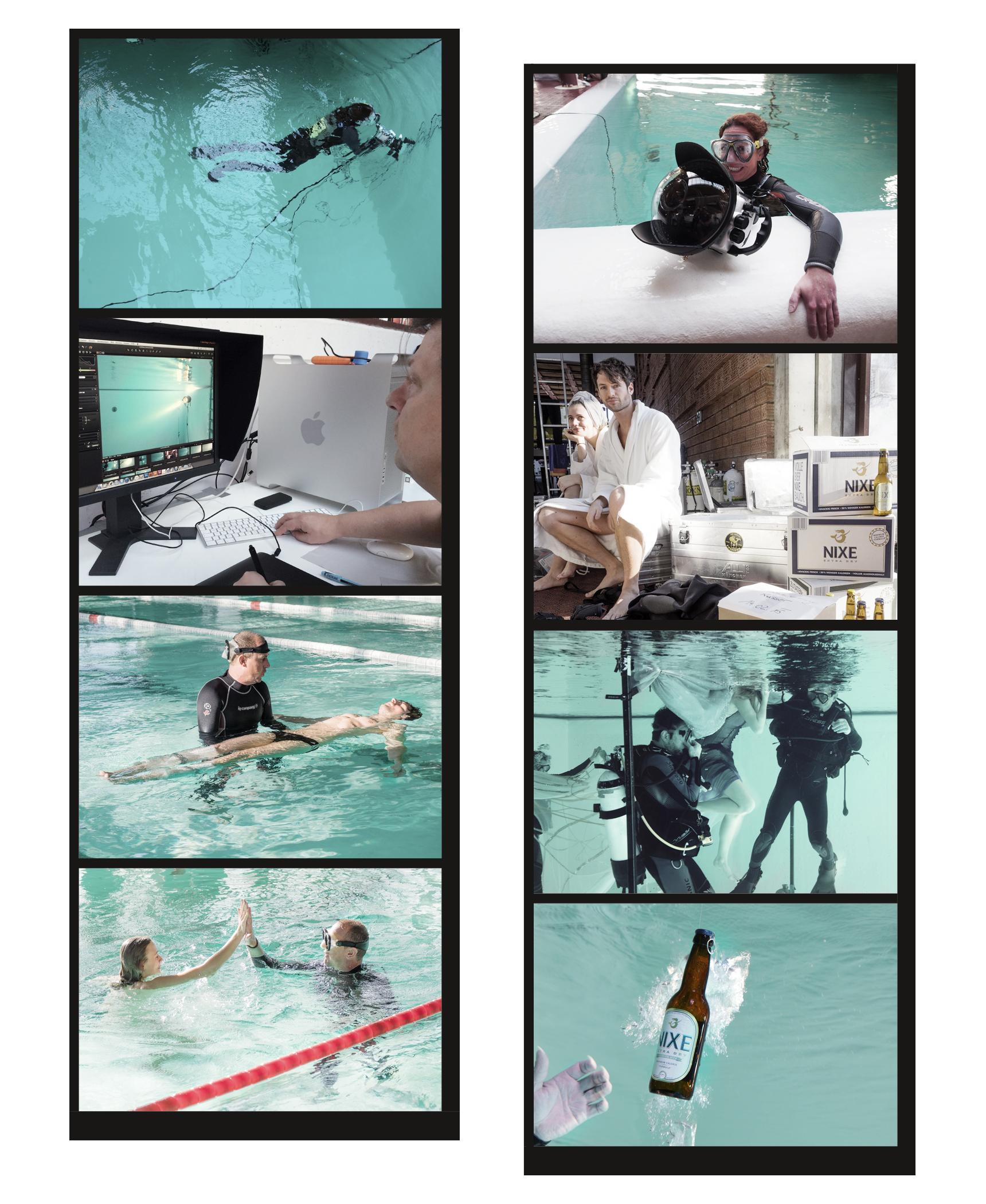 NIXE underwater making of