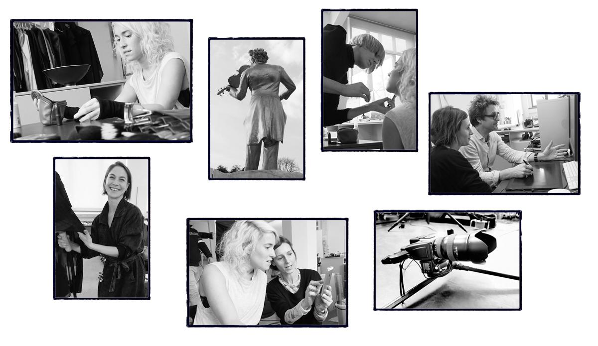 Making of Polaroids
