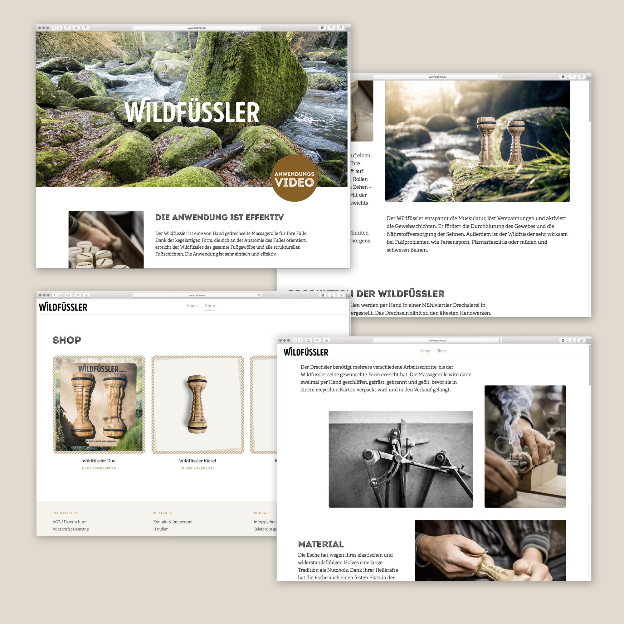podmo-website-uebersicht