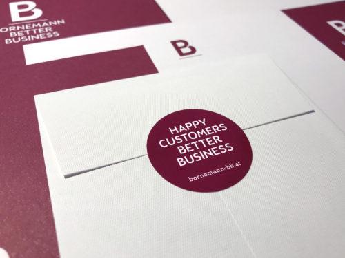 Büro an der Wien, badw, Bornemann, Corporate Design, Brand Identity, Stationary