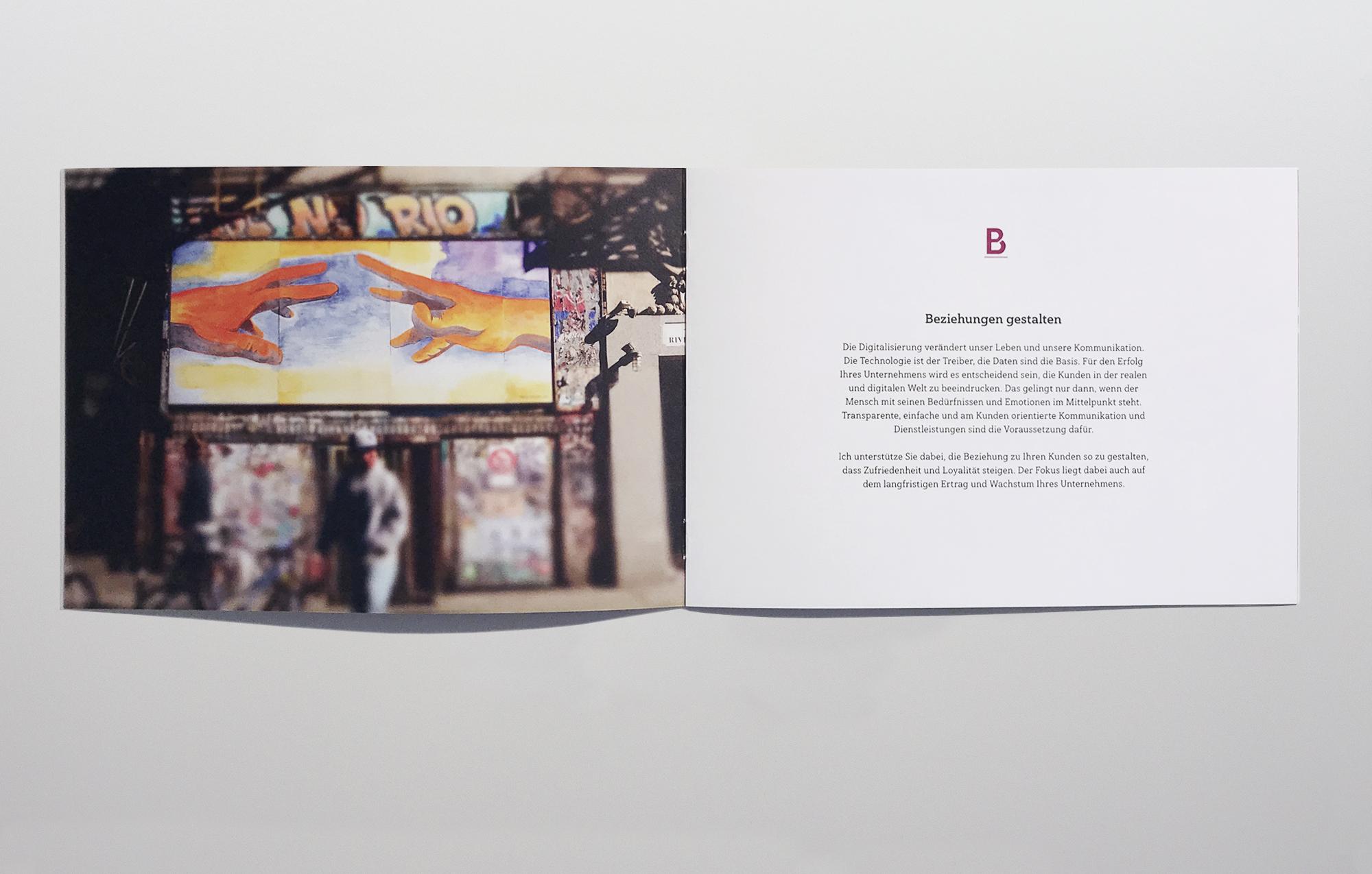 Büro an der Wien, badw, Bornemann, Corporate Design, Brand Identity, Folder