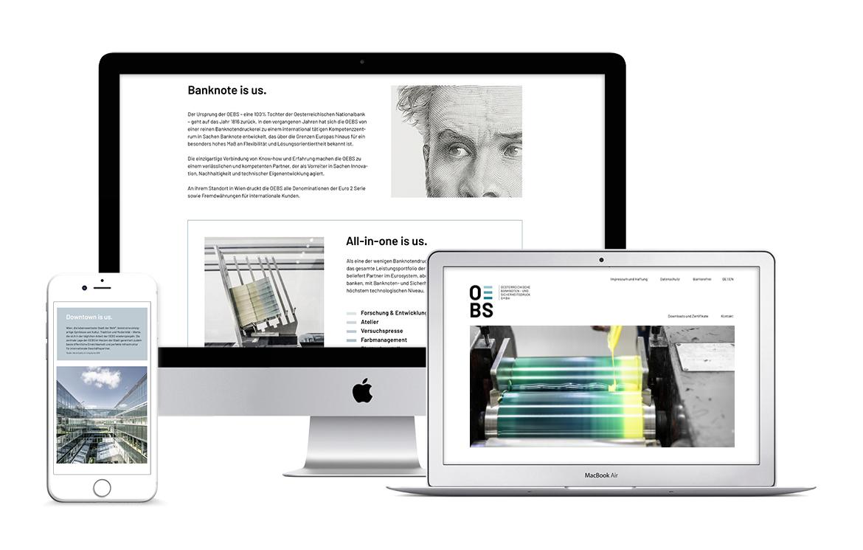 Büro an der Wien, badw, OEBS, Brand Identity, Corporate Design, Website